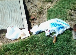 Smoking these cigarettes isn't bad for my baby at all, either is dumping my trash on someone else's lawn.